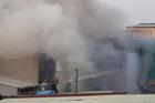 Cháy lớn nhà xưởng làm 8 người chết ở TP.HCM
