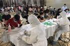 Thêm 14 ca mắc Covid-19, Bắc Ninh xét nghiệm 15.000 dân trong đêm