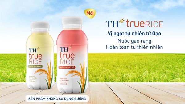 Bí quyết vị ngọt mát lành tự nhiên của nước gạo lứt đỏ TH true RICE