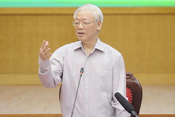 Tổng Bí thư Nguyễn Phú Trọng tâm sự với cử tri về tuổi thơ nghèo khổ