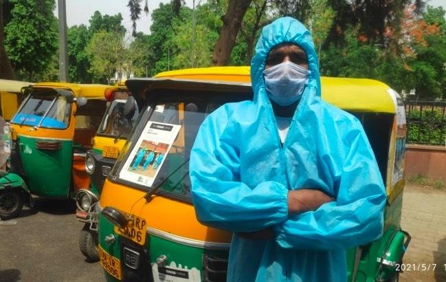 Xe kéo tự động trở thành xe cứu thương ở Ấn Độ