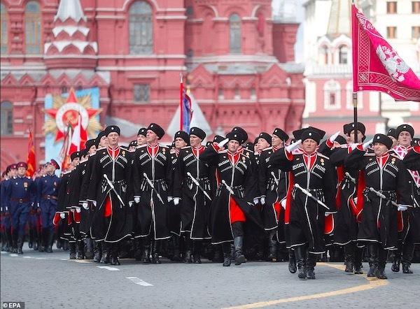 Ngắm các đội quân quyến rũ của Tổng thống Nga