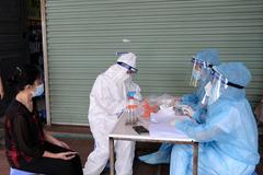 Vĩnh Phúc có thêm 14 ca dương tính SARS-CoV-2