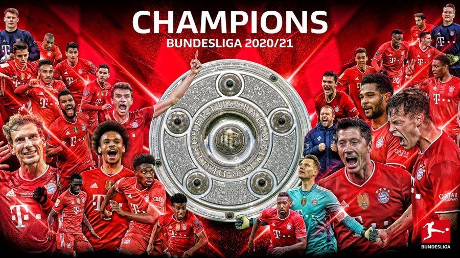 Dortmund thắng kịch tính Leipzig, giúp Bayern vô địch sớm