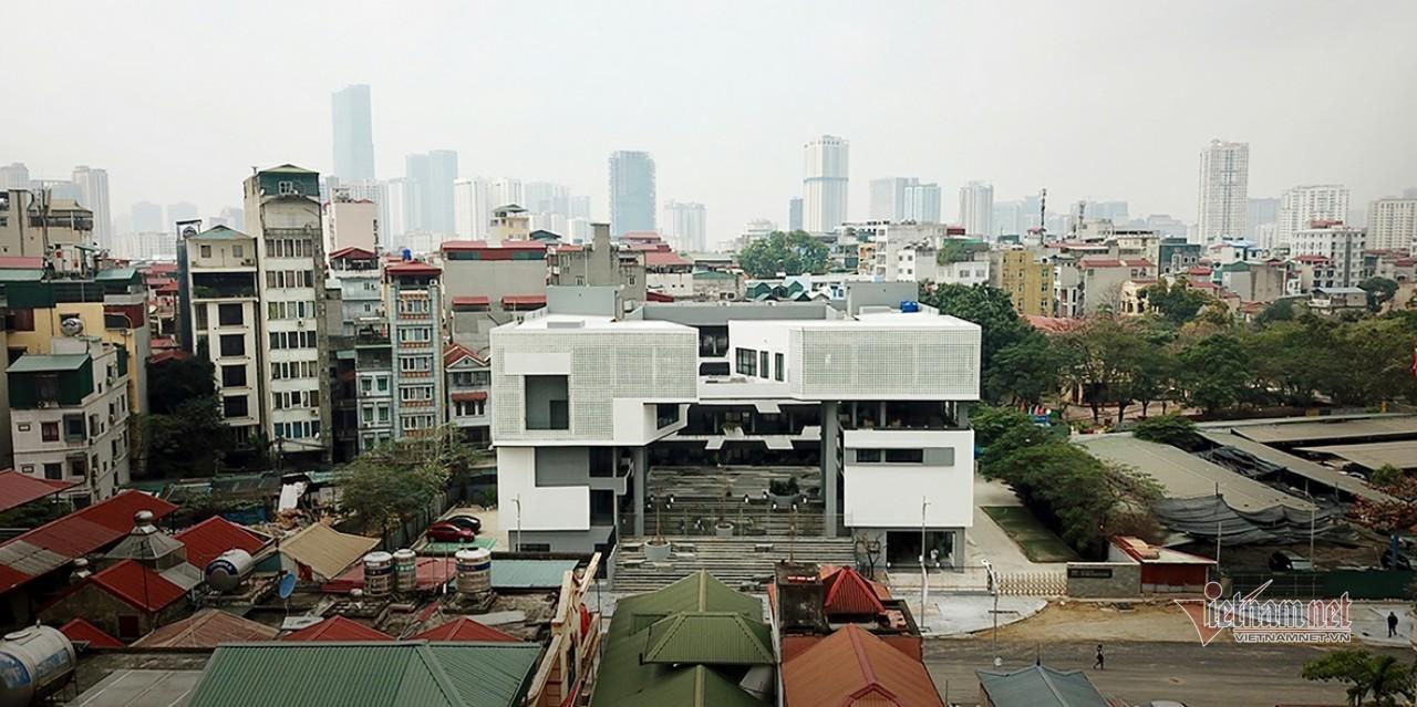 Trụ sở mới 'đẹp long lanh' của Viện Nghiên cứu cao cấp về Toán