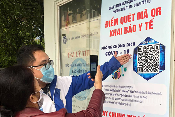 Vietnam uses high-tech solutions against Covid-19