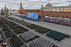 Hình ảnh quân đội Nga phô diễn sức mạnh mừng Ngày Chiến thắng