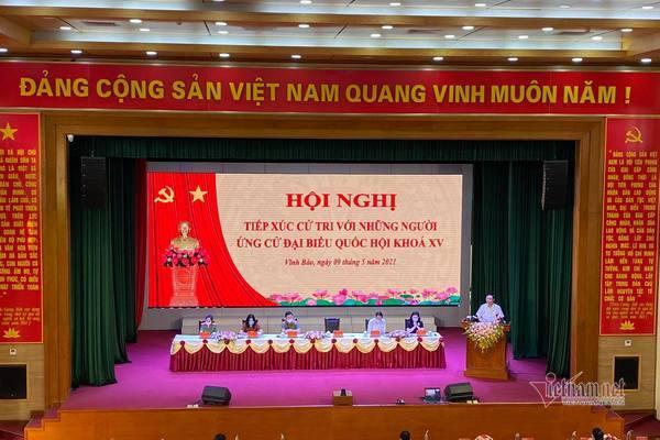 Lời hứa của Chủ tịch Quốc hội Vương Đình Huệ trước cử tri Hải Phòng