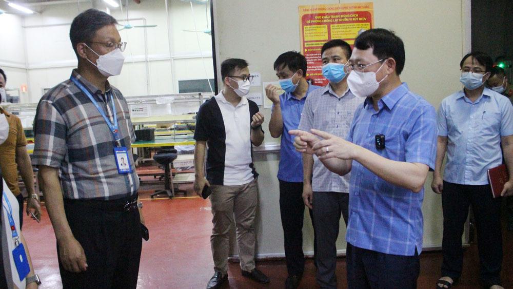 Giám đốc CDC Bắc Giang tạm dừng việc điều hành để tập trung chống dịch