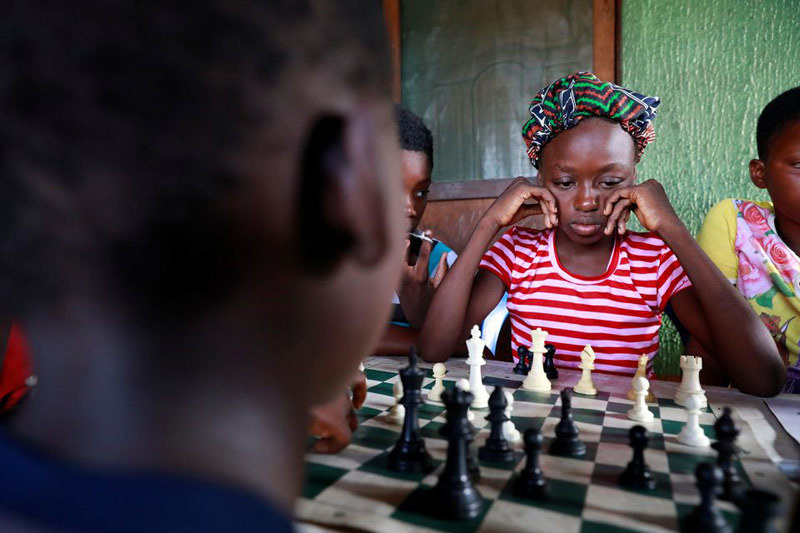 Những đứa trẻ học cờ vua để đổi đời ở Nigeria