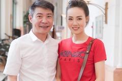 Vợ kém 15 tuổi của Công Lý tiết lộ lý do 'cãi nhau với chồng'