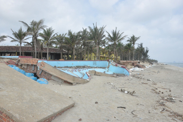 Central region,erosion