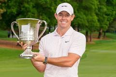 Rory McIlroy đăng quang giải golf Wells Fargo