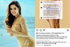 Hành động đáng khen ngợi của Khánh Vân với Hoa hậu Myanmar
