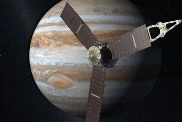 Tàu của NASA phát hiện'tín hiệu'từ hành tinh Ganymede