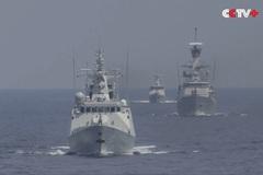 Hình ảnh hải quân Trung Quốc và Indonesia tập trận chung