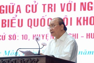 Chủ tịch nước Nguyễn Xuân Phúc nói về khát vọng vì đất nước hùng cường