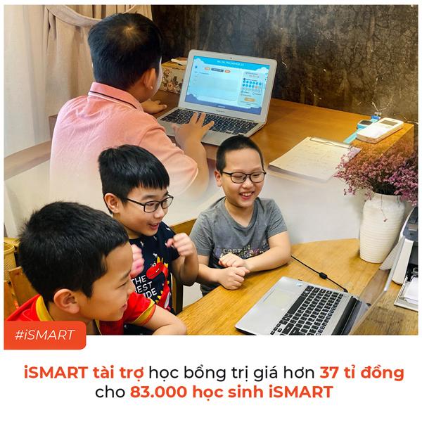 iSMART tài trợ 37 tỷ đồng cho HS toàn quốc học trực tuyến