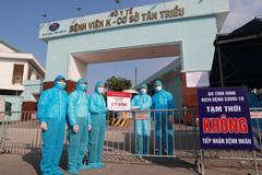Agribank tặng 2 tỷ đồng cho Bệnh viện K chống dịch