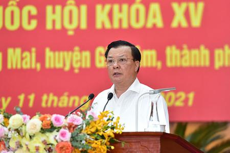 """Bí thư Hà Nội: Tránh để """"băm nát"""" quy hoạch Thủ đô"""