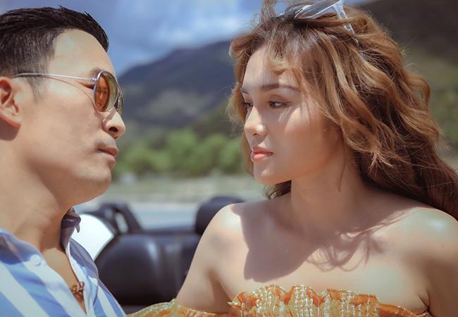 Yeye Nhật Hạ đóng cảnh tình tứ cùng ca sĩ Việt kiều Na Uy