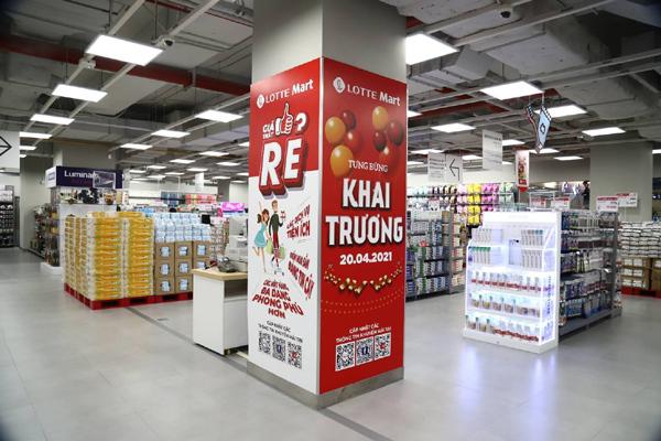 Lotte Mart sử dụng chất làm lạnh tiết kiệm điện, thân thiện môi trường
