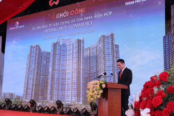 Hải Phòng: Khởi công dự án Hoang Huy Commerce với resort trên cao
