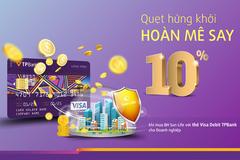 Thanh toán bằng thẻ Visa TPBank được hoàn 10% phí bảo hiểm SunLife