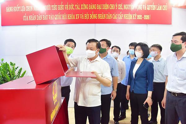 Hà Nội xây dựng kịch bản bầu cử ở nơi cách ly, phong tỏa