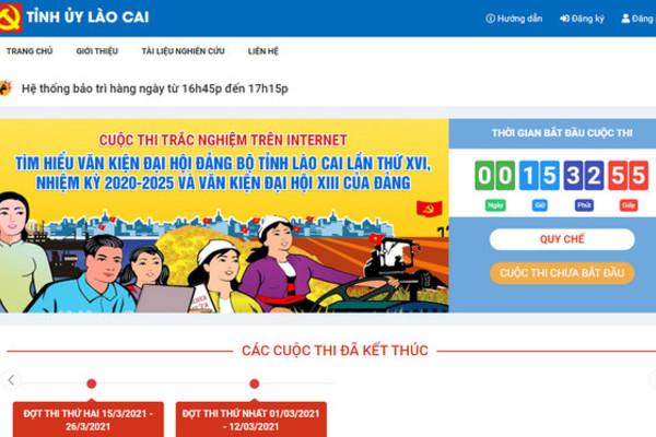 Huyện đầu tiên của tỉnh Lào Cai tổ chức Hội thi tìm hiểu Nghị quyết Đại hội Đảng
