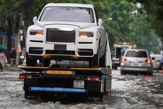 Tốn hàng chục triệu để khắc phục ôtô ngập nước