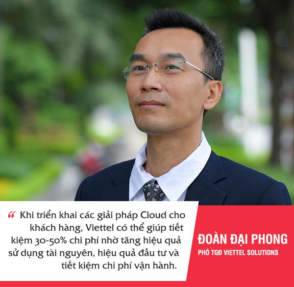 1 chữ 'Cloud', tiết kiệm 30-50% chi phí: Viettel đã làm thế nào?