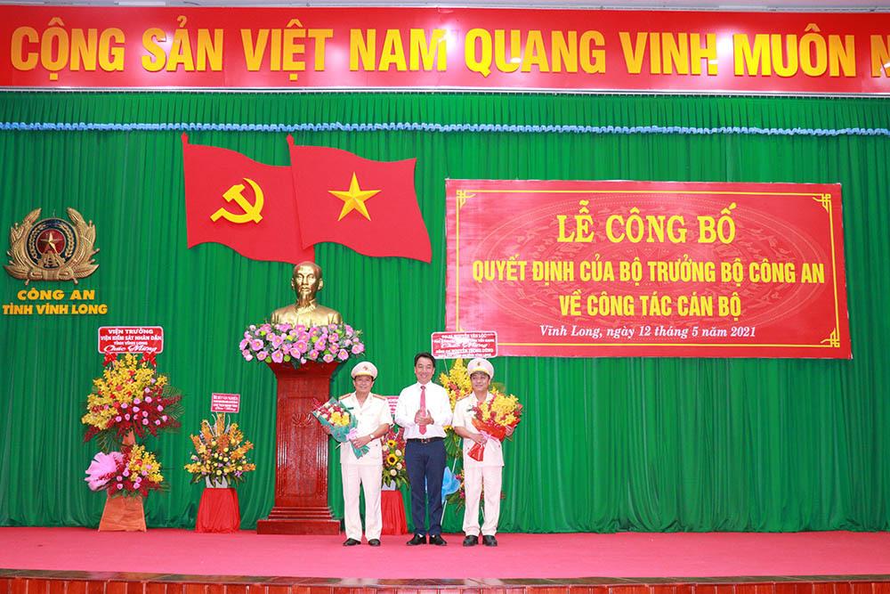 Đại tá Nguyễn Trọng Dũng làm Giám đốc Công an tỉnh Vĩnh Long