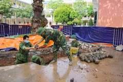 Phát hiện 400 quả bom bi trong khuôn viên UBND TP Hải Dương
