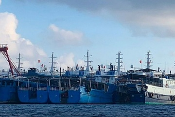 Philippines tố Trung Quốc tăng số tàu hoạt động ở quần đảo Trường Sa