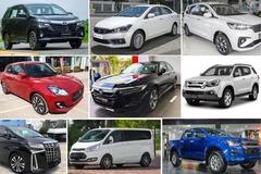Top 10 xe bán chậm tháng 4: Suzuki và Isuzu vẫn lẹt đẹt
