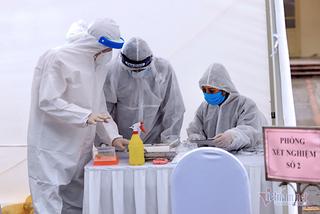 Bắc Giang: Ổ dịch Hosiden rất nguy hiểm, tỷ lệ dương tính nCoV cao