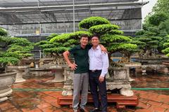Người 'thổi hồn' cho cây cảnh bonsai ở Bắc Giang