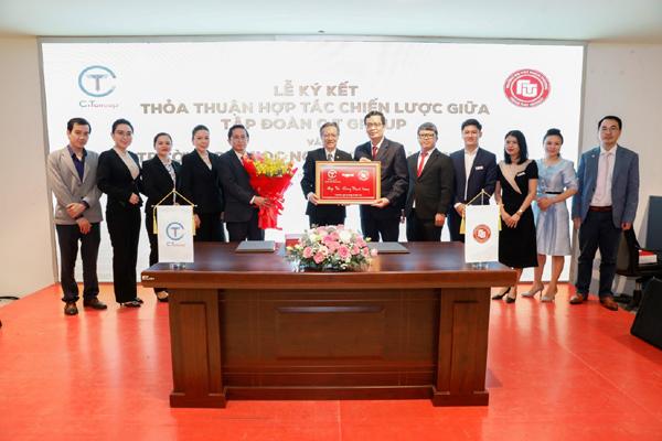 C.T Group hợp tác toàn diện với ĐH Ngoại thương cơ sở II