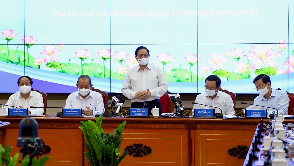 Thủ tướng làm việc với TP.HCM: 'Kiến nghị ngắn gọn, đi thẳng vào vấn đề'