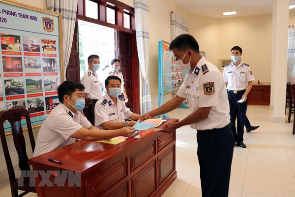Ba Ria – Vung Tau,early voting for officers,soldiers