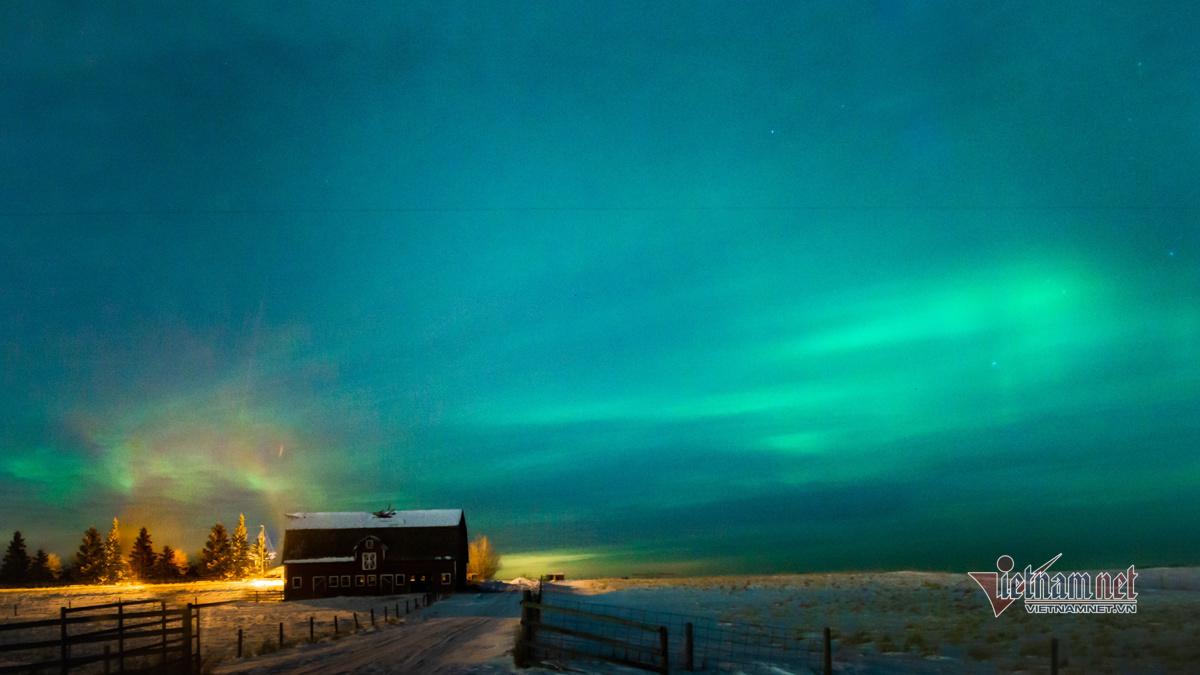 Săn Bắc cực quang: Đêm huyền diệu, đời người mấy ai nếm trải
