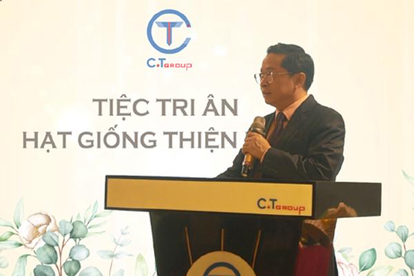 Tập đoàn C.T Group gây thích thú với chương trình 'Tri ân những hạt giống thiện lành'
