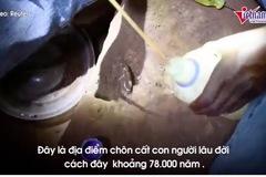 Khám phá ngôi mộ trẻ em được chôn cách đây 78.000 năm