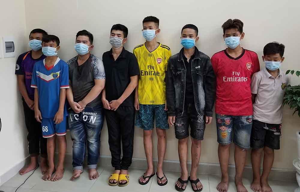 Gần 40 thanh thiếu niêm mang hung khí lao vào nhau huyết chiến ở Sài Gòn