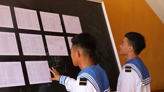 Young soldiers on islands excited with first-time voting