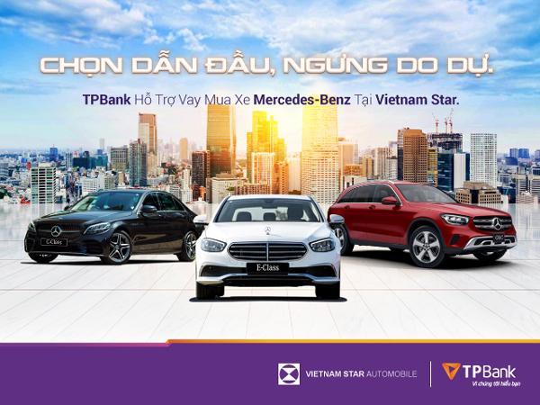 Vay ngân hàng mua Mercedes-Benz chỉ với 5 triệu đồng/tháng