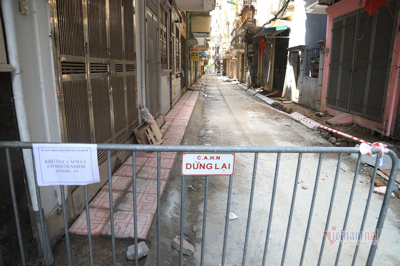 Thêm khu dân cư bị phong tỏa ở Hà Nội liên quan đến bệnh nhân 3633