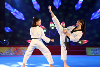 HCM City's Taekwondo artist kick-starts political career