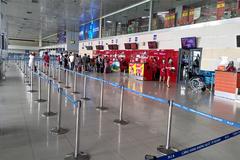 Quá vắng khách, dừng khai thác sảnh E sân bay Nội Bài
